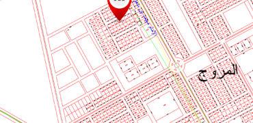 للبيع أرض بحي المروج بالمذنب رقم 983
