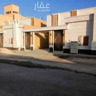 بيت للبيع في شارع القطن حي الحزم الرياض